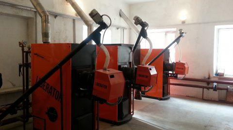 Проектирование и монтаж пеллетной котельной на 400 кВт. 2016.