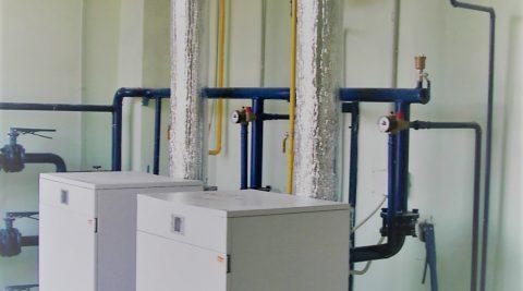 Газовая котельная мощностью 100 кВт на базе котлоагрегатов  КОЛВИ