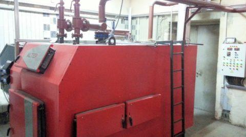 ТВТ котельная на базе пеллетного котла АЛЬТЕП мощностью 500кВт.