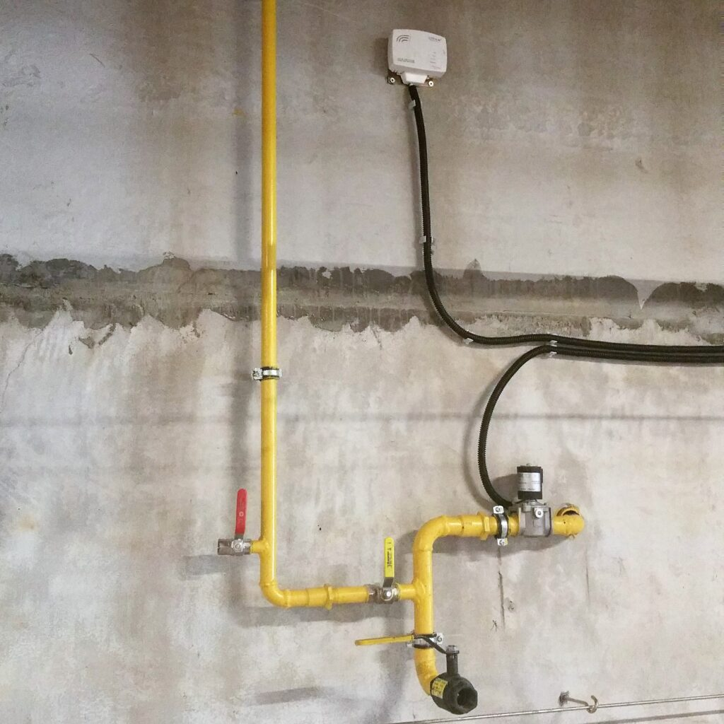 Внутренний газопровод